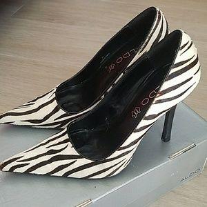Women's Zebra - high heel shoes
